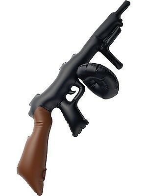 Costume 1920's Hollywood Party Gangster Gatsby Inflatable Tommy Gun 75cm