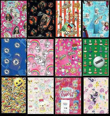 TV or Film Character Giftwrap and Gift Card For Birthday etc....