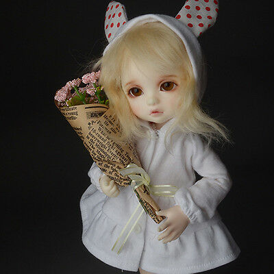 1//4 1//3 BJD accessory Middle Rose Flower Bouquet DOLLMORE Pink