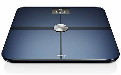 Withings WS-50 Smart Body Analyzer,Digitale Personenwaage Black für IOS+Android