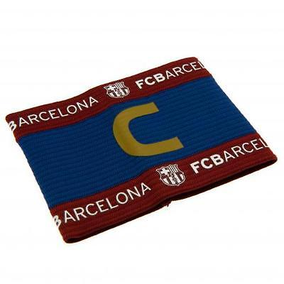 Barcelona Official Crested Captains Armband La Liga One Size Fits All