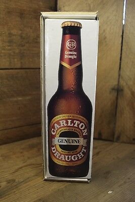 Collectable Carlton Draught Boxed First Stubbie Barware