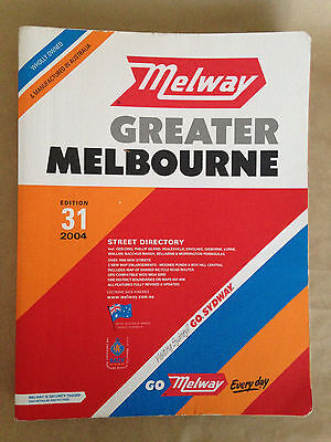 MELWAYS 2004   Melbourne Street Directory     Excellent/Unmarket Condition