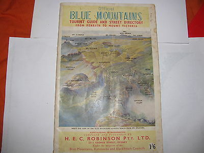 BLUE MOUNTAINS tourist guide & street directory