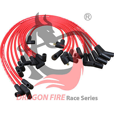 HEI SPARK PLUG WIRE SET **FOR 1979-1991 Ford SBF 221 260 289 302 351W 45 TO 90
