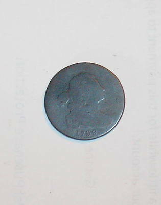 1799 Electrotype DRAPED BUST LARGE CENT 1c