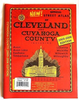 Street Atlas Cleveland and Cuyahoga County 2005-2006 plus Avon Lake Willoughby+
