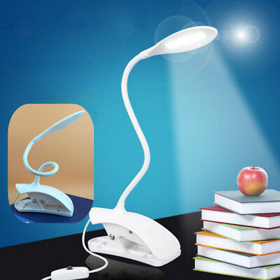New Clip Desk Table Stand TOUCH LED Eye Protection Reading Study Lamp USB Light