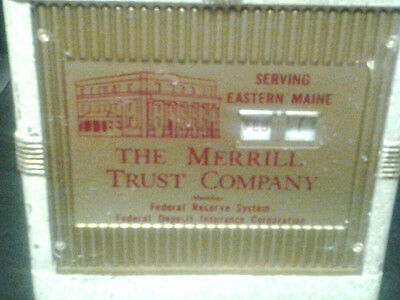 Advertising Bank for The Merrill Trust Company of Eastern Maine