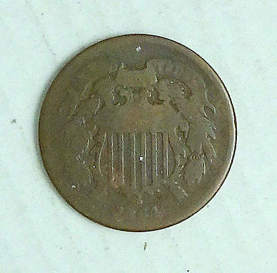Two Cent Piece; 1864