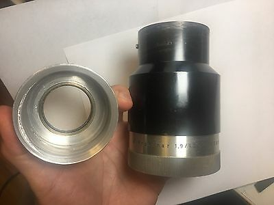 Prokinar 120mm 1.9 with helicoid adapter for m42,Custom Modified Projection lens