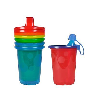 The First Years Take & Toss Spill-Proof Sippy Cups 10 Ounce 4 Count - NEW