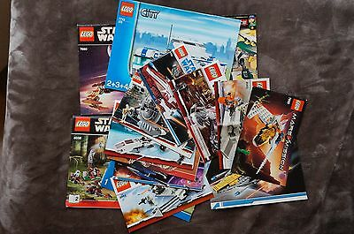 LEGO Instruction Manual LOT 15 Books Star Wars, City, More.