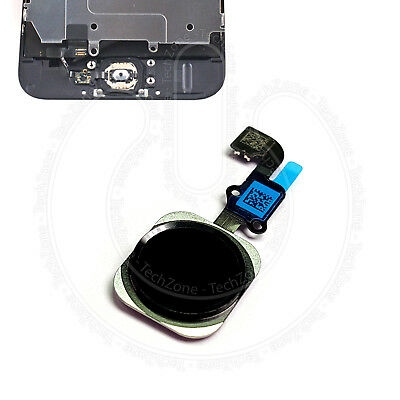 For iPhone 6 & iPhone 6 Plus Home Button Flex Main Menu Replacement Button Black