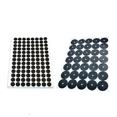 Pack of 30/96 Pool Table Spots Billiard Cloth Felt Marker Black Diameter 35/12mm