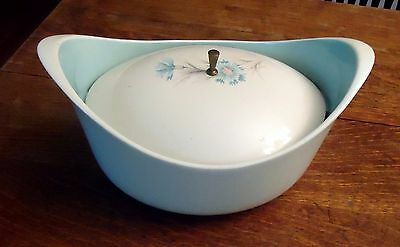 """2  Taylor, Smith, & Taylor """"Boutonniere"""" COVERED CASSEROLES  ( 1 LID )"""