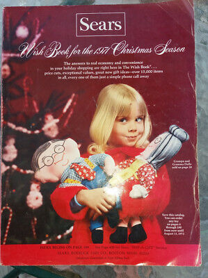 1971 Sears Christmas Season  Wish Book Catalog Barbies Playsets GI Joe Lava Lamp