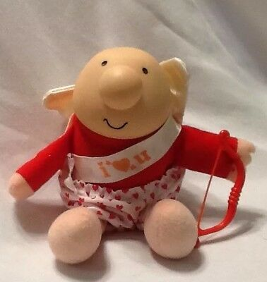 "ZIGGY Cupid 7"" STUFFED DOLL - I Love You - American Greetings 1988"
