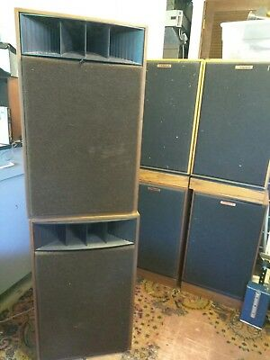 Vintage Realistic Mach One #4024A Speakers