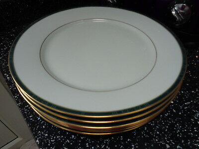 Boots Hanover Green Dinner Plates  X 6