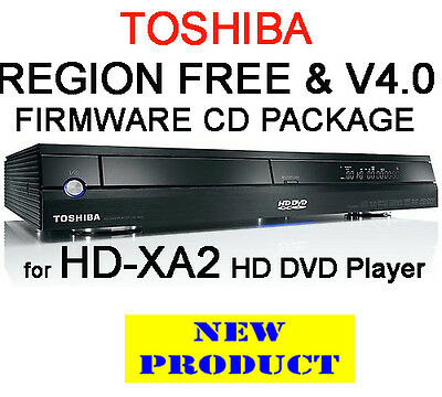 V4.0  & Region Free Firmware For Toshiba Hd-Xa2 Hddvd Player