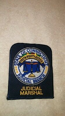 State of Connecticut Judicial Marshall patch