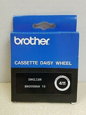 Brother Cassette Daisy Wheel #411 / English Brougham 10 (NEW)