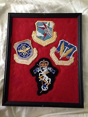 WW2 Royal Electrical Mechanical Engineers patch WWII Vietnam Air Force Grouping