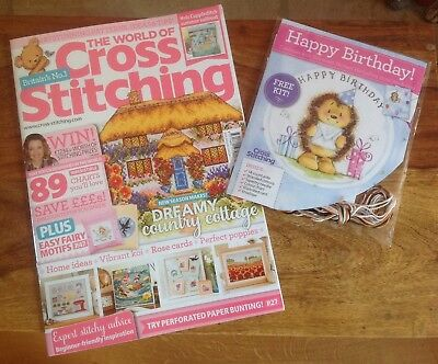 The World Of Cross Stitching Issue 258 Plus Free Gift