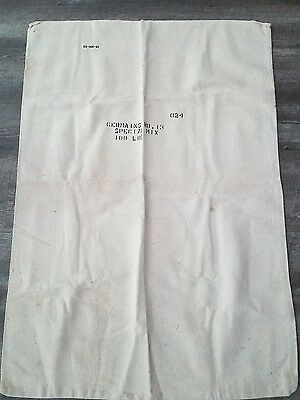 Vintage Feed Grain Linen Sack