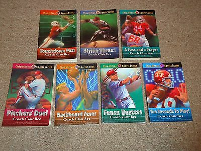 Lot 7 Chip Hilton Sports Books Coach Clair Bee Football Basketball Baseball
