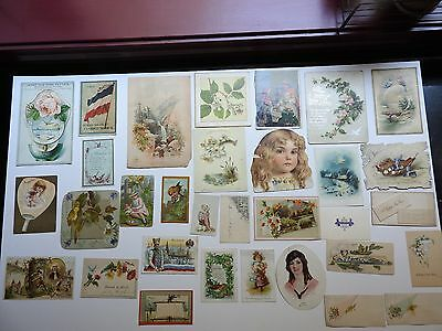 Victorian Trade Cards Lot 2  50 pieces