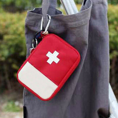 WELL New Portable Mini Travel Home Survival First Aid Kit Medical Emergency Bag