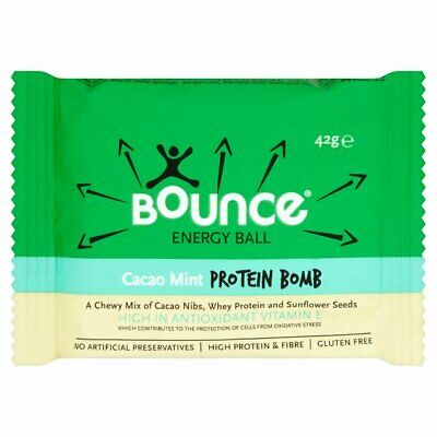 Cacao Mint Protein Bomb Energy Ball - 42g - Pack of  40