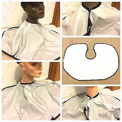 PVC SHOULDER CAPE TINTING CUTTING  FOR SALONS - 3 Colours to choose