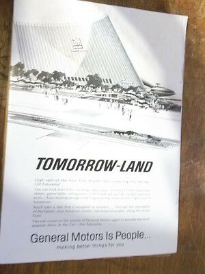 1965 GM Tomorrow-Land Magazine ad