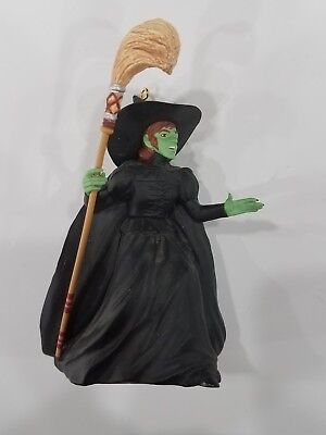 Wizard of Oz Hallmark Ornament - 1996 WICKED WITCH OF THE WEST