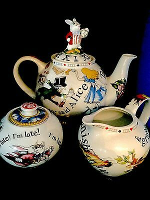 Alice In Wonderland Adult SizeTea Set Design by Cardew Collectable
