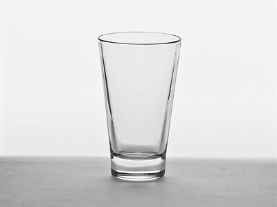 Set Of 12 Oslo Tall Water Tumbler Glass Drinking Beer Party Gift Cafe Bar