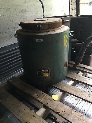 Johnson Natural Gas Crucible Foundry Furnace Sand Casting