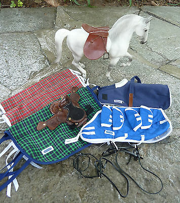 Breyer Model Horse Traditional ~Accessories Blanket, Stable Sheets, Saddles