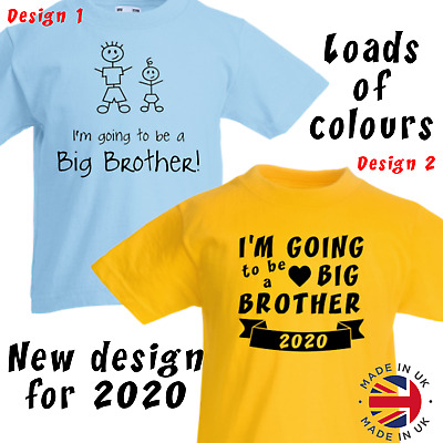 I'm Going to be a Big Brother T Shirt  kids t shirt