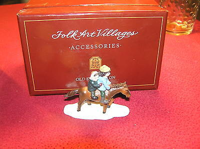 """Lang & Wise""""old Stonington"""" Mother Daughter On Pony, 1St Edition Sign , Nos"""