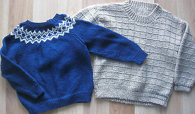 Knitted Wool Baby Boy Jumpers