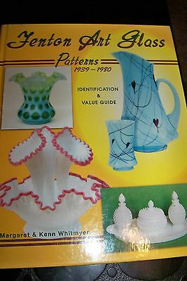 Identification/price Guide Book On Fenton Art Glass #2