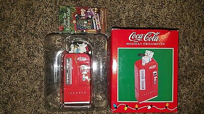 COCA~COLA; Holiday Ornament; Outstanding Used Condition