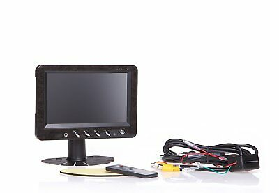 """7"""" Inch Car Hd Stand/headrest Monitorwith Built-in Hdmiblack car / Home Compat"""