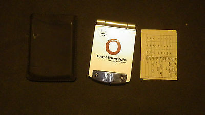 Lucent technologies multi function travel alarm clock worker incentive