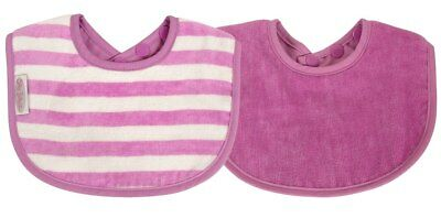 NEW Silly Billyz - Organics Biblet 2pk 0-2 years - Plum from Baby Barn Discounts