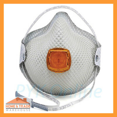 P2 Particulate Respirator MOLDEX 2800 Disposable Safety Dust Mask Valve 10 Pack